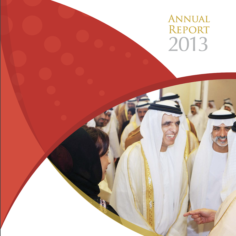 Sheikh Saud bin Saqr Al Qasimi Foundation for Policy Research 2013 Annual Report
